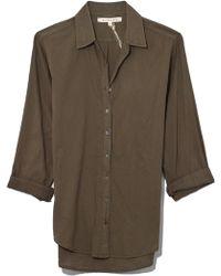 Xirena - Beau Shirt In Olive Drab - Lyst