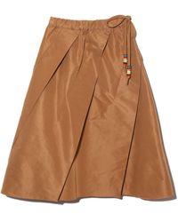 N°21 A-line Skirt - Brown