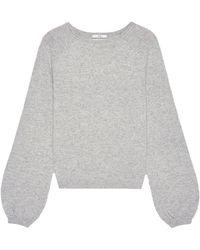 Co. Raglan Peasant Sleeve Jumper - Grey
