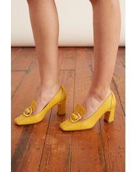 Rupert Sanderson Marion Loafer Pump - Yellow