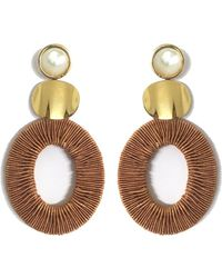 Lizzie Fortunato - Harvest Moon Earrings - Lyst