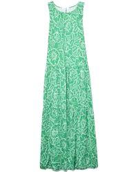 Rodebjer Louiza Rose Dress In Spring Green