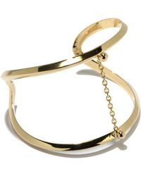 Pamela Love - Suspension Cuff In Yellow Gold - Lyst