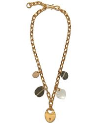 Lizzie Fortunato - Heart Of Gold Necklace - Lyst