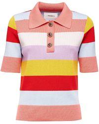 La DoubleJ Polo Shirt - Pink