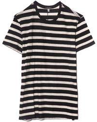 R13 - Striped Boy T - Lyst