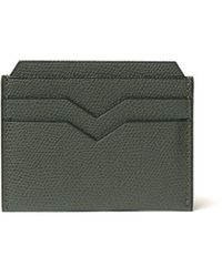 Valextra Card Case - Green