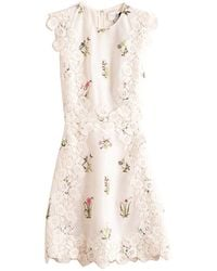 Giambattista Valli Shift Sequin Dress - Natural