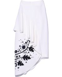 Peter Pilotto - Printed Cady Skirt - Lyst