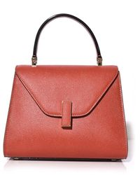 Valextra Iside Mini Bag In Pottery - Red