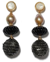Lizzie Fortunato - Masquerade Ball Earrings - Lyst