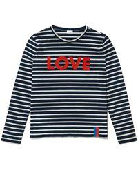 Kule The Modern Love Long Sleeve Tee - Blue