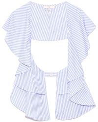 Tibi Awning Stripe Overlay - Multicolor
