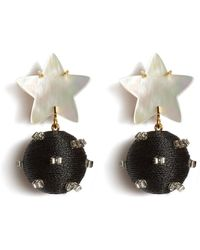 Lizzie Fortunato Starburst Earrings - Multicolour