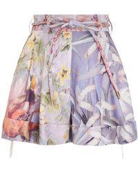 Zimmermann Botanica Shorts - Multicolour