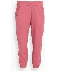 Apiece Apart Dinas Jogger - Pink