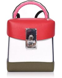 the VOLON - Box Basic In Red/white - Lyst