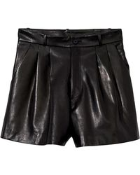 Nili Lotan - Roxana Short In Black - Lyst