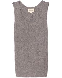 Loulou Studio Alicudi Tank - Grey