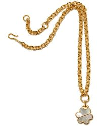 Lizzie Fortunato - Daisy Chain Necklace In Mother Of Pearl - Lyst
