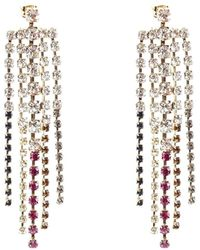 Rosantica Sublime Straight Drip Earrings - Metallic