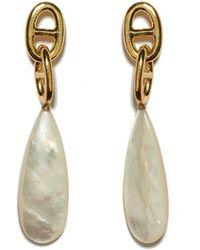 Lizzie Fortunato Grotto Drop Earrings - Metallic