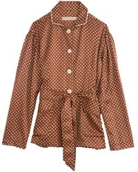 Raquel Allegra Relaxed Blazer - Brown