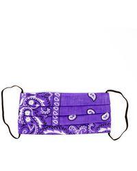 ARIZONA LOVE Bandana Mask - Purple