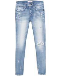 Moussy Lenwood Skinny Jean - Blue