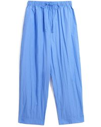 Co. Elastic Waist Drawstring Pant - Blue