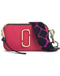 Marc Jacobs - Snapshot Bag In Peony Multi - Lyst