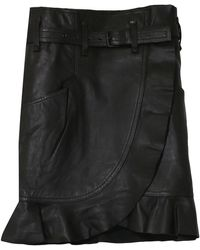Étoile Isabel Marant Qing Skirt - Black