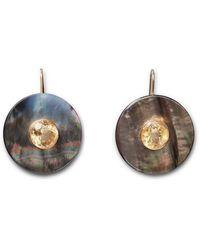 Lizzie Fortunato Taj Disc Earrings - Multicolour