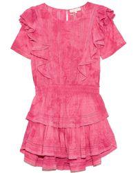 LoveShackFancy Natasha Dress - Pink