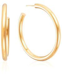 Otiumberg Large Chunky Hoops In Gold - Metallic