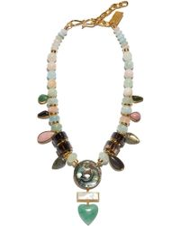 Lizzie Fortunato What's Old Is New Necklace - Metallic