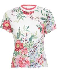 Zimmermann Bellitude Floral Tee - Multicolor