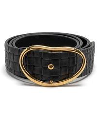 Lizzie Fortunato Wide Georgia Belt - Black