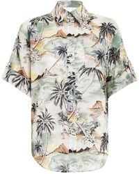 Zimmermann Juliette Roll Cuff Shirt - Multicolour