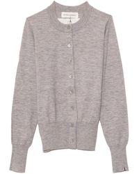 Extreme Cashmere Little Cardi - Grey