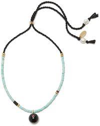 Lizzie Fortunato Orbit Necklace - Metallic