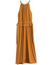 Proenza Schouler Sleeveless Cinched Dress - Multicolour