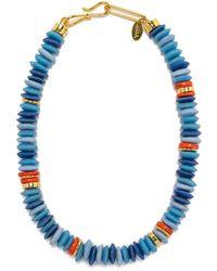Lizzie Fortunato Laguna Necklace - Blue