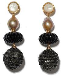 Lizzie Fortunato Masquerade Ball Earrings - Multicolour