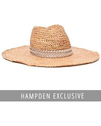 Gigi Burris Millinery - Exclusive Santiago Hat In Natural/oyster - Lyst