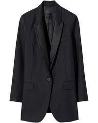 Nili Lotan Arlin Tuxedo Jacket - Black