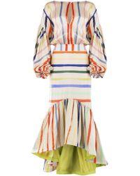 Silvia Tcherassi - Albahaca Dress In Pastel Multi - Lyst