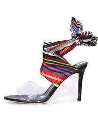 Monse - Rainbow Ankle Wrap Sandals - Lyst