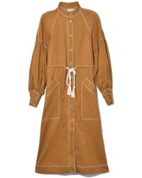 Ulla Johnson Cyril Trench In Olive - Green