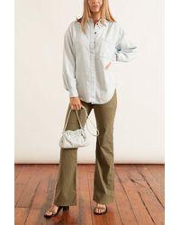 PROENZA SCHOULER WHITE LABEL Chambray Shirt - Blue